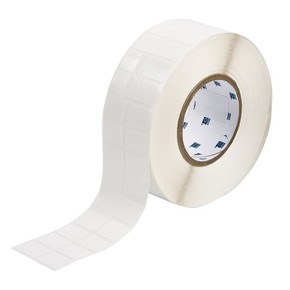 Этикетки Brady THT-88-498-5 виниловая ткань, B-498, белые матовые, 25,4x19,05мм