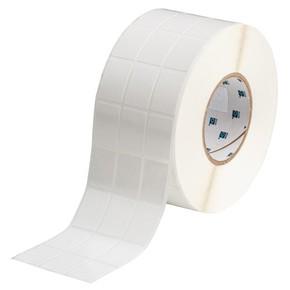 Этикетки Brady THT-89-498-5 виниловая ткань, B-498, белые матовые, 25,4x36,5мм