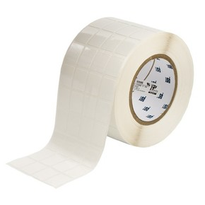 Этикетки Brady THT-95-498-5 виниловая ткань, B-498, белые матовые, 20,32x36,5мм