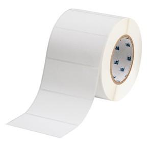 Этикетки Brady THT-55-449-1 / 101,6x55,88мм THT-55-449-1 Полипропилен, B-449, белый матовый, 101,6x50,8мм