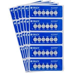 Этикетки Brady этикетка индикатор температур til-6-88c / 190f,в упаковке, 30 шт