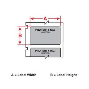 Этикетки Brady PTL-35-423-PROP / 41,4x19,05мм, B-423