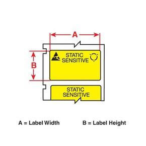Этикетки Brady PTLSL-17-473 / 25,4x12,7мм, B-473
