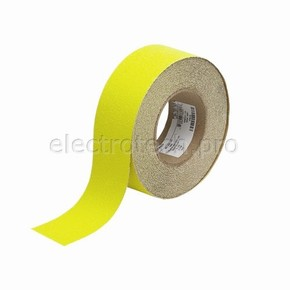 Лента антискольжения Brady anti-skid, желтая, 50x18000 мм, Рулон