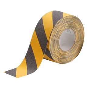 Лента антискольжения Brady anti-skid,черно- 1, желтая, 75x18000 мм, Рулон