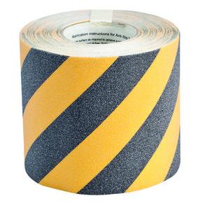 Лента антискольжения Brady anti-skid,черно- 1, желтая, 150x18000 мм, Рулон
