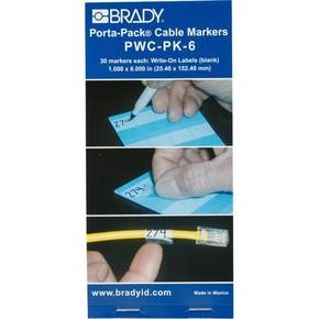 Маркеры кабельные Brady pwc-pk-6