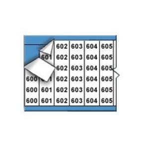 Маркеры кабельные Brady wm-600-624