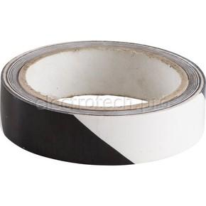 Лента маркировочная напольная Brady прочная для разметки,черно- 1, белая, 25x16500 мм, b-950, Самоклеющийся, Винил, Рулон