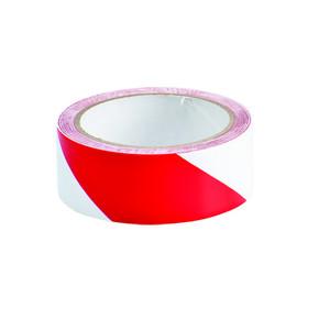 Лента маркировочная напольная Brady прочная для разметки,красно- 1, белая, 38x16500 мм, b-950, Самоклеющийся, Винил, Рулон