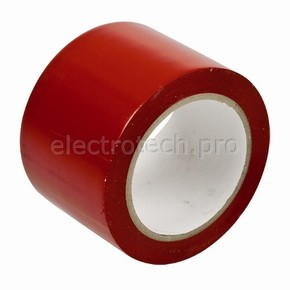 Лента виниловая напольная Brady, красная, 75x33000 мм, b-726, Винил, Рулон