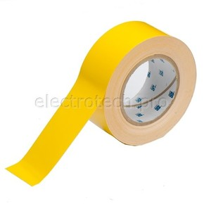Лента напольная на подложке Brady toughstripe,материал в-514, желтая, 50.8x30000 мм, Полиэстер