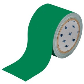 Лента напольная на подложке Brady toughstripe,материал в-514, зеленая, 50.8x30000 мм, Полиэстер