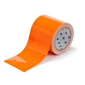 Лента напольная на подложке Brady toughstripe,материал в-514, оранжевая, 76.2x30000 мм, Полиэстер