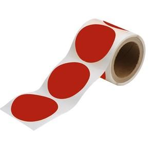 Метки Brady, красные, 89 мм, 100x30000 мм, b-514, 300 шт (gws104400)