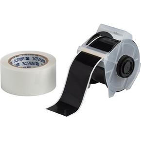 Лента для печати на принтере для globalmark Brady globalmark, ламинат в-634 для покрытия сверху, черная,прозрачная, 57.2x30000 мм, b-483