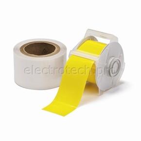 Лента для печати на принтере для globalmark Brady globalmark, ламинат в-634 для покрытия сверху, желтая,прозрачная, 57.2x30000 мм, b-483