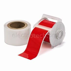 Лента для печати на принтере для globalmark Brady globalmark, ламинат в-634 для покрытия сверху, красная,прозрачная, 57.2x30000 мм, b-483