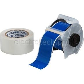 Лента для печати на принтере для globalmark Brady globalmark, ламинат в-634 для покрытия сверху, синяя,прозрачная, 57.2x30000 мм, b-483