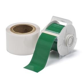 Лента для печати на принтере для globalmark Brady globalmark, ламинат в-634 для покрытия сверху, зеленая,прозрачная, 57.2x30000 мм, b-483