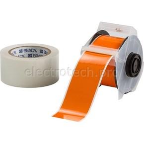 Лента для печати на принтере для globalmark Brady globalmark, ламинат в-634 для покрытия сверху, оранжевая,прозрачная, 57.2x30000 мм, b-483