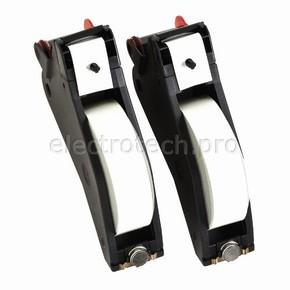 Система маркировочная, виниловая LabelizerPlus / VersaPrinter Brady 29 мм, белый,black, 27 м, b-595, 2 шт, Рулон