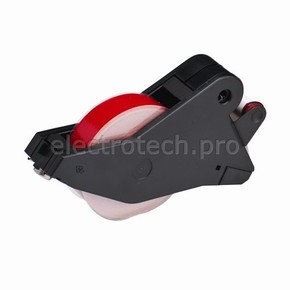 Система маркировочная, виниловая LabelizerPlus / VersaPrinter Brady 13 мм, красный,white, 27 м, b-595, 2 шт, Рулон