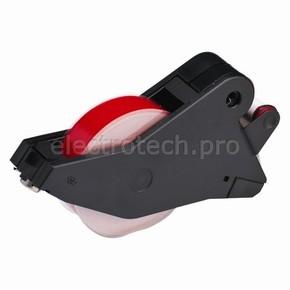Система маркировочная, виниловая LabelizerPlus / VersaPrinter Brady 29 мм, красный,white, 27 м, b-595, 2 шт, Рулон