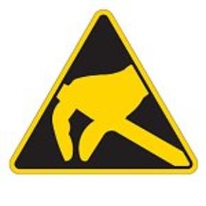 Знак безопасности запрещающий не пользоваться открытым огнем и не курить Brady 100 мм, b-7541, Ламинация, pic 201, Полиэстер, 250 шт