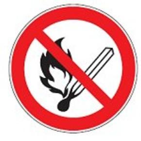 Знак предупреждающий опасность поражения работающим погрузчиком Brady, 500x500 мм, b-7538, pic 306, Полиэстер, 1 шт
