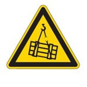 Знак безопасности предупреждающий внимание магнитное поле Brady 25 мм, b-7541, Ламинация, pic 322, Полиэстер, 250 шт