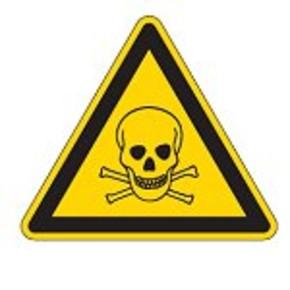 Знак безопасности предупреждающий холод Brady 50 мм, b-7541, Ламинация, pic 323, Полиэстер, 250 шт