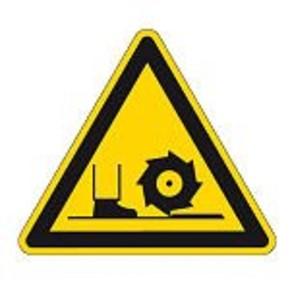 Знак безопасности запрещающий проход запрещен Brady 100 мм, b-7541, Ламинация, pic 202, Полиэстер, 250 шт