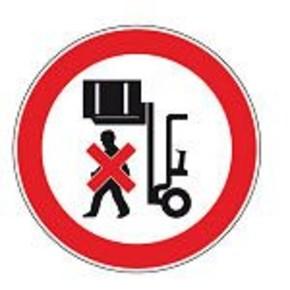 Знак дорожный остановка запрещена Brady 100 мм, b-7541, Ламинация, pic 226, Полиэстер, 250 шт