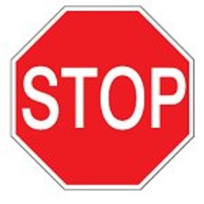 Знак безопасности запрещающий Brady 25 мм, b-7541, Ламинация, pic 215, Полиэстер, 250 шт