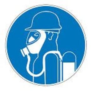 Знак безопасности предписывающий надеть бахилы Brady 100 мм, b-7541, Ламинация, pic 280, Полиэстер, 250 шт