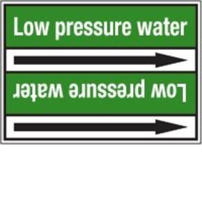 Стрелка для маркировки трубопровода Brady, белый на зеленом, «non-drinking water», 100x33000 мм, b-7529, 550 шт, 8 мм
