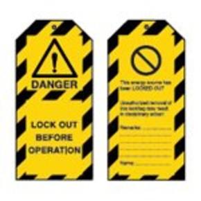 Лента преграждающая Brady на 1, желтом,черная, 75x250000 мм, Полиэтилен, «caution op trench», Рулон