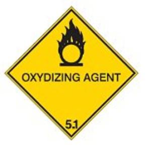Знак маркировки грузов легковоспламеняющиеся жидкости Brady adr 3, 297x297 мм, b-7541, Ламинация, Полиэстер, 1 шт
