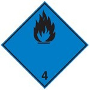Знак маркировки грузов едкое вещество Brady adr 8,алюминиевая пластина, 297x297 мм, b-7525, 1 шт