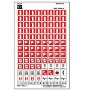 Держатель для знаков коридорный Brady, 151x151 мм, Пластик, 1 шт