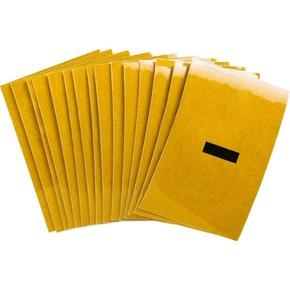 5920-BLANK, черный на желтом, 25 × 38 мм, B-946 винил, 25 цифр на карте, в упаковке 25 карт