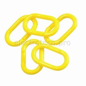 Звено соединительное полиэтилен Brady brady,50 мм, желтое, Полиэтилен, 36 шт