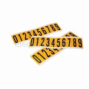 Буквы на карте Brady букв 25 карт,1 этикетка,материал в-946, Комплект