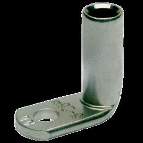 Кабельный трубчатый медный луженый наконечник Klauke 168R12, угловой — 90° DIN 95 мм² М12