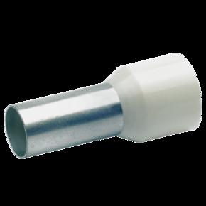 Втулочный изолированный наконечник Klauke 17718, 16 мм², длина втулки 18 мм, цветной ряд 2, серый