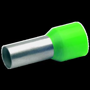 Втулочный изолированный наконечник Klauke 177GRL, 16 мм², длина втулки 18 мм, цветной ряд 1, зелёный