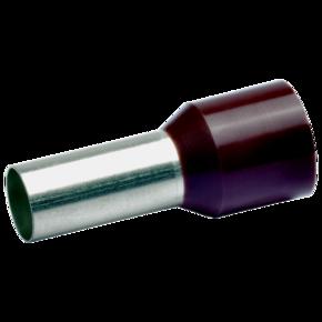Втулочный изолированный наконечник Klauke 178BRL, 25 мм², длина втулки 22 мм, цветной ряд 1, коричневый