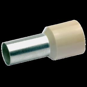 Втулочный изолированный наконечник Klauke 179B, 35 мм², длина втулки 16 мм, цветной ряд 1, бежевый