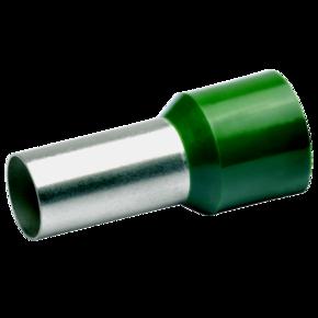 Втулочный изолированный наконечник Klauke 180O, 50 мм², длина втулки 20 мм, цветной ряд 1, оливковый
